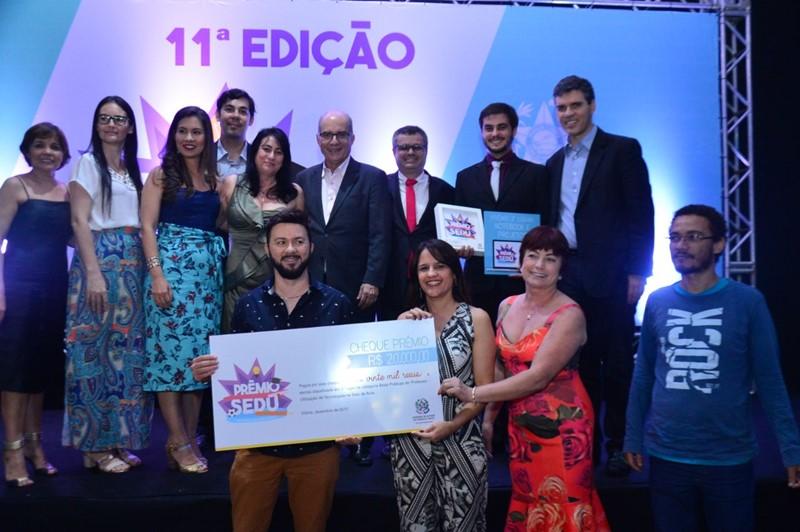SEDU - Prêmio Sedu  educadores são premiados por boas práticas 032abdf3f32dd
