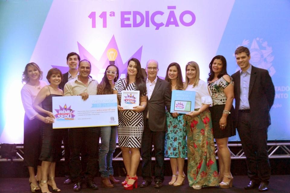 """A 11ª edição do """"Prêmio Sedu  Boas Práticas na Educação"""" reconheceu as experiências  bem-sucedidas realizadas nas unidades escolares da ... f4d8f8fe916b1"""